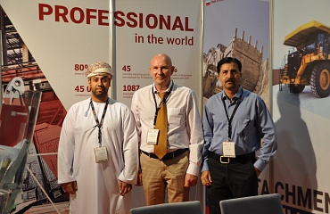 The geography of participation in exhibitions is expanding. Oman Mining Expo – 2019